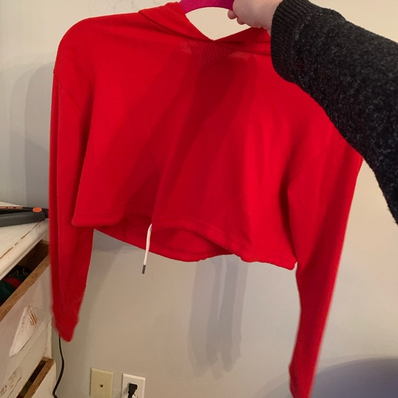 Urban Outfitters Tops - Very sod cropped hoodie